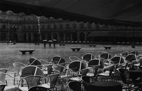 Fotografía terraza lluvia Pedro Ladoire